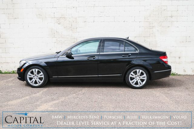 2010 Mercedes-Benz C300 Sport 4MATIC AWD Luxury Car w/Moonroof, Heated Seats, Driver's Memory & Bluetooth in Eau Claire, Wisconsin 54703