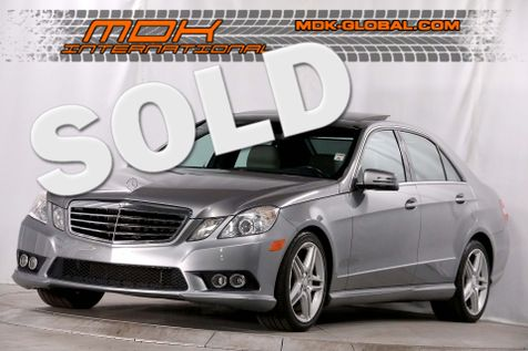 2010 Mercedes-Benz E 350 Sport - AMG pkg - Panoramic roof - P2 pkg in Los Angeles