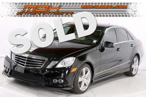 2010 Mercedes-Benz E 350 Sport - Navigation - Heated seats - P1 pkg in Los Angeles
