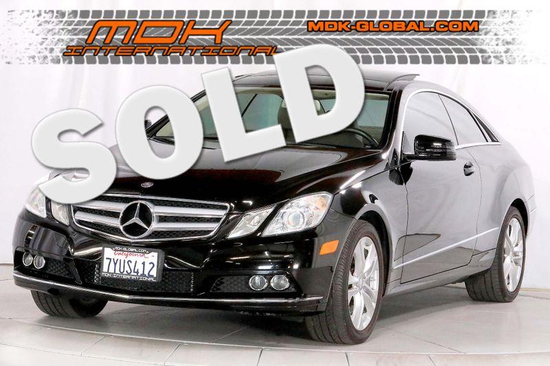 2010 Mercedes-Benz E 350 - Navigation - Heated seats - Back up camera  city California  MDK International  in Los Angeles, California