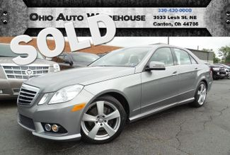 2010 Mercedes-Benz E 350 4Matic AWD Navi Sunroof 45K LOW MILES We Finance | Canton, Ohio | Ohio Auto Warehouse LLC in Canton Ohio