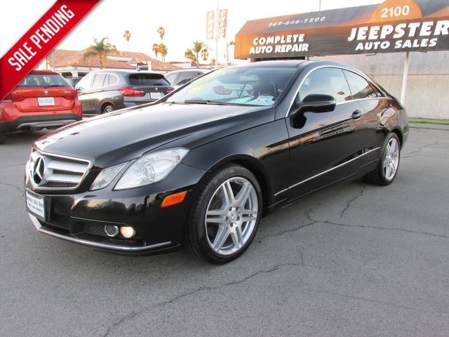 2010 Mercedes-Benz E 350 Sport Coupe