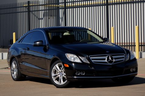 2010 Mercedes-Benz E 350 Coupe* Clean Title* Just Serviced* | Plano, TX | Carrick's Autos in Plano, TX