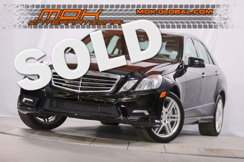 2010 Mercedes-Benz E 550 Sport - P2 - Heated/Cooled seats in Los Angeles