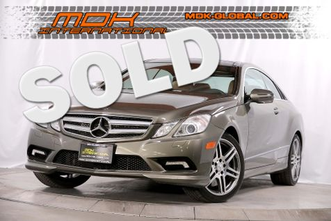 2010 Mercedes-Benz E 550 - Premium II pkg - Appearance pkg in Los Angeles