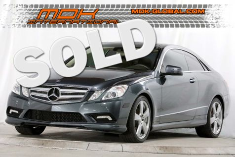 2010 Mercedes-Benz E 550 - Premium 2 pkg - Navigation - Heated/Cooled seats in Los Angeles