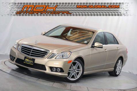 2010 Mercedes-Benz E350 Sport - Premium 1 pkg - 18