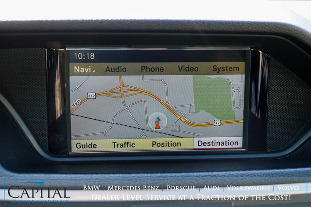 2010 Mercedes-Benz E550 Sport 4MATIC AWD w/AMG Style Wheels, Nav, Adaptive Cruise, Keyless GO & H/K Premium Audio in Eau Claire, Wisconsin 54703