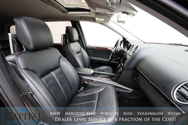 2010 Mercedes-Benz GL450 4Matic AWD Luxury SUV w/3rd Row Seats, Dual Screen DVD, Nav, Backup Cam, Heated Seats, Tow Pkg in Eau Claire, Wisconsin 54703