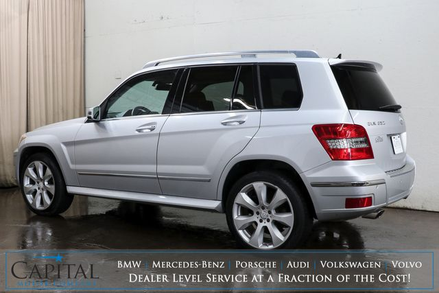 2010 Mercedes-Benz GLK350 4MATIC AWD Crossover w/Dual Screen DVD Entertainment, Navi, Panoramic Roof & B.T. Audio in Eau Claire, Wisconsin 54703