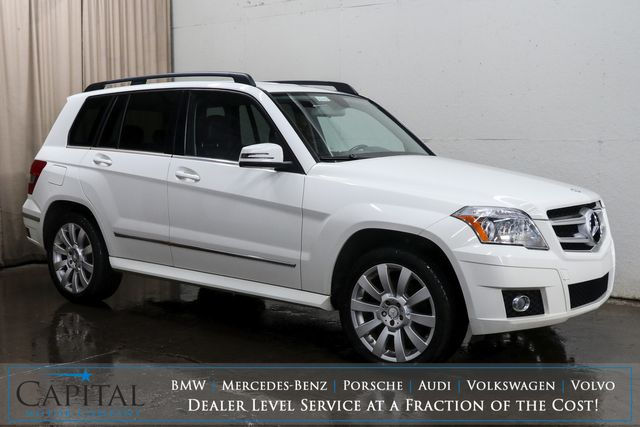 2010 Mercedes-Benz GLK350 4MATIC AWD Luxury Crossover with Heated Seats, Bluetooth and 19-Inch Wheels