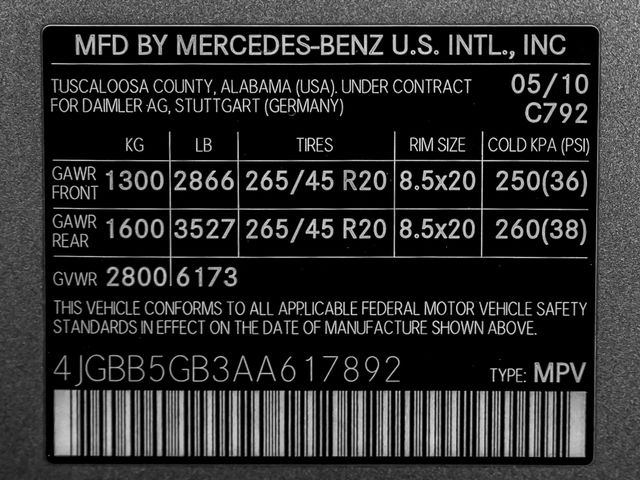 2010 Mercedes-Benz ML 350 Burbank, CA 30