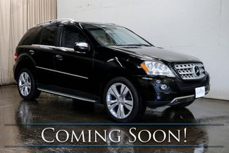 2010 Mercedes-Benz ML 350 Luxury SUV w/Nav, Backup Cam, Heated Seats, Power Moonroof, Tinted and Tow Package in Eau Claire, Wisconsin 54703