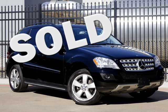 2010 Mercedes-Benz ML 350 Navigation * SUNROOF * Heated Seats * PWR LIFTGATE Plano, Texas