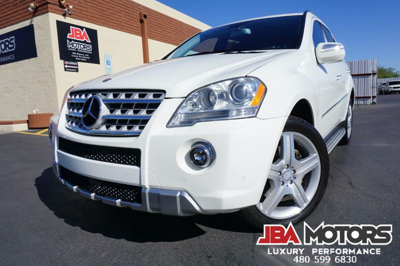 2010 Mercedes-Benz ML550 ML Class 550 4Matic AWD P2 Package AMG Sport Pkg | MESA, AZ | JBA MOTORS in MESA AZ
