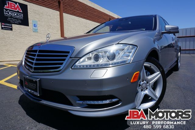 2010 Mercedes-Benz S550 S Class 550 Sedan P2 Package AMG Sport Pano Roof