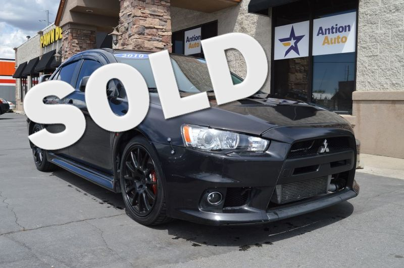 2010 Mitsubishi Lancer Evolution MR | Bountiful, UT | Antion Auto