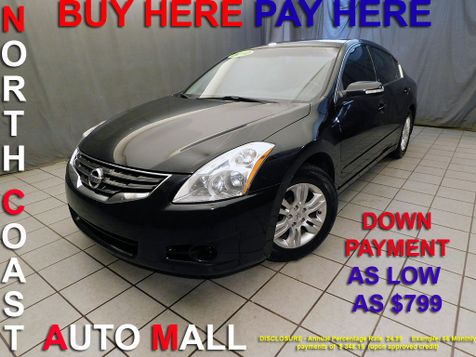 2010 Nissan Altima 2.5 SLAs low as $799 DOWN in Cleveland, Ohio