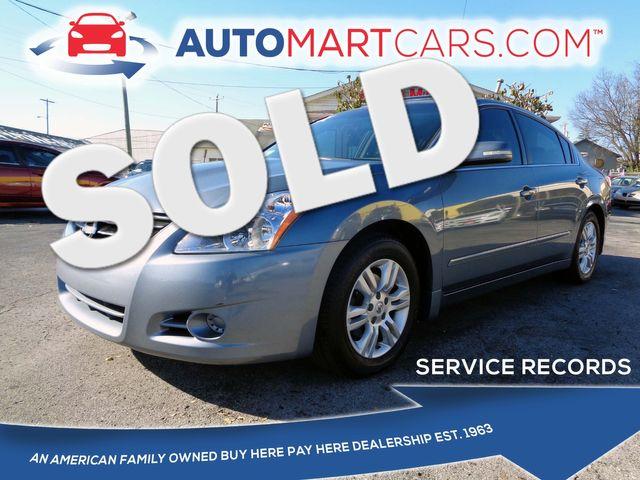 2010 Nissan Altima 2.5 SL | Nashville, Tennessee | Auto Mart Used Cars Inc. in Nashville Tennessee