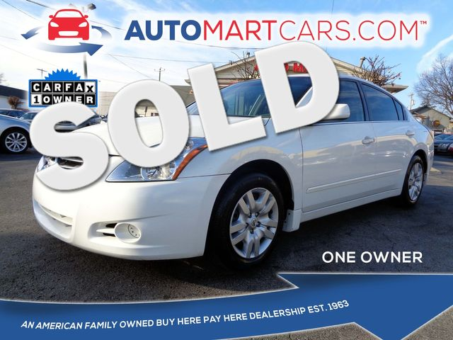 2010 Nissan Altima 2.5 S | Nashville, Tennessee | Auto Mart Used Cars Inc. in Nashville Tennessee