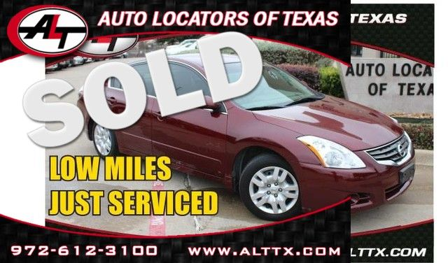 2010 Nissan Altima in Plano TX