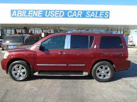 2010 Nissan Armada Platinum in Abilene, TX