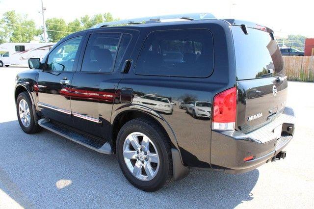 2010 Nissan Armada Platinum St. Louis, Missouri 5