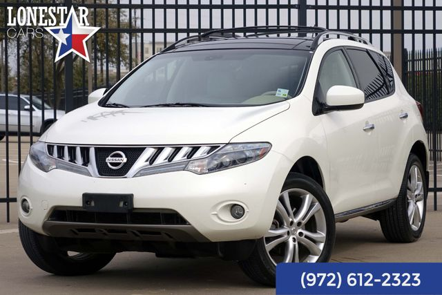 2010 Nissan Murano LE Clean Carfax Leather Roof