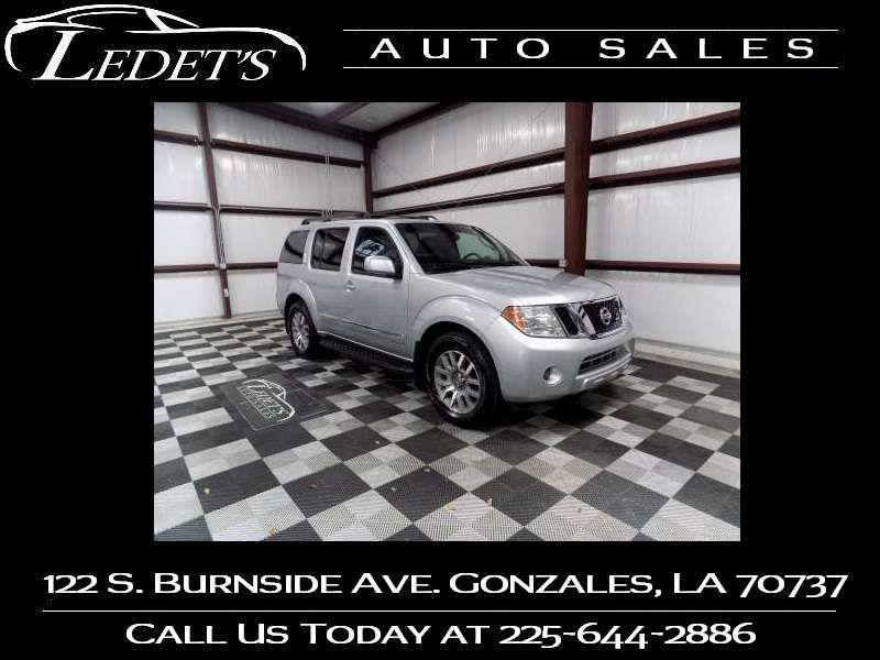 2010 Nissan Pathfinder LE - Ledet's Auto Sales Gonzales_state_zip in Gonzales Louisiana