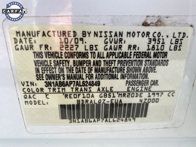 2010 Nissan Sentra 2.0 Madison, NC 31