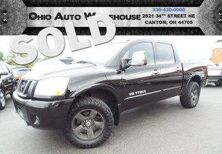 2010 Nissan Titan LE 4x4 V8 Crew Cab Leather We Finance | Canton, Ohio | Ohio Auto Warehouse LLC in Canton Ohio