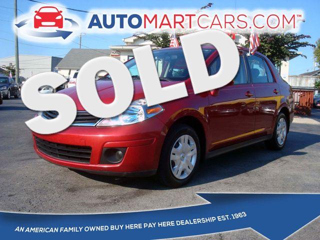 2010 Nissan Versa 1.8 S | Nashville, Tennessee | Auto Mart Used Cars Inc. in Nashville Tennessee