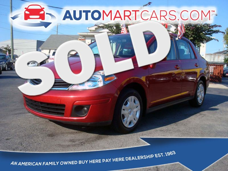 2010 Nissan Versa 1.8 S   Nashville, Tennessee   Auto Mart Used Cars Inc. in Nashville Tennessee
