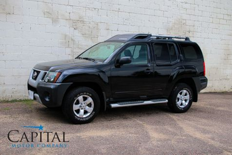 2010 Nissan Xterra 4WD Sport SUV with Roof Racks, Tow Package, Alloy Wheels & Low Miles in Eau Claire