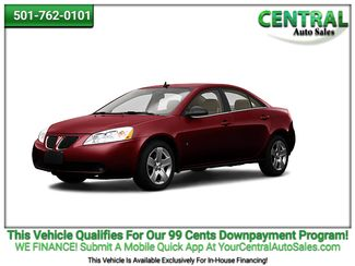 2010 Pontiac G6 w/1SB   Hot Springs, AR   Central Auto Sales in Hot Springs AR