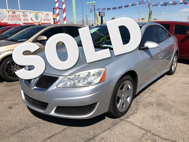2010 Pontiac G6 w/1SB CAR PROS AUTO CENTER (702) 405-9905 Las Vegas, Nevada