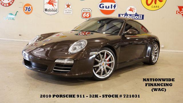 2010 Porsche 911 Carrera 4S Coupe 6 SPD,ROOF,NAV,HTD/COOL LTH,32K