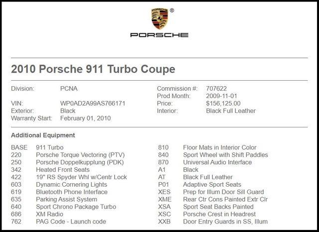 2010 Porsche 911 Turbo-[ 2 ]