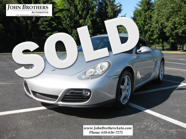 2010 Sold Porsche Cayman Conshohocken, Pennsylvania