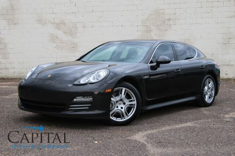 2010 Porsche Panamera 4S AWD Luxury Sedan w/400HP V8, Heated/Cooled Seats, Navigation & 19