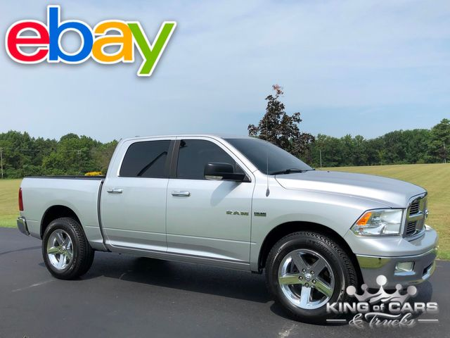 2010 Ram 1500 Crew Cab Big HORN 5.7L HEMI LOW MILES 1-OWNER 4X4 MINT