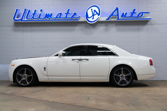 2010 Rolls-Royce Ghost Base Sedan 4-Door: Panoramic Sunroof. Picnic Tables. Rear Climate Controls. 21