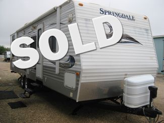 2010 Springdale 296 BHS SOLD! Odessa, Texas