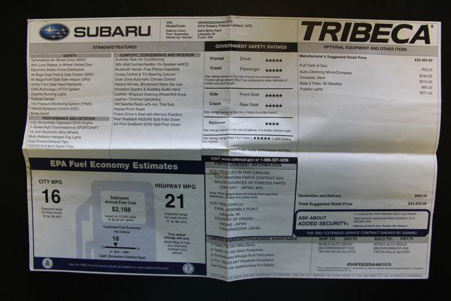 2010 Subaru Tribeca 3.6R Limited AWD Richmond, Virginia 34