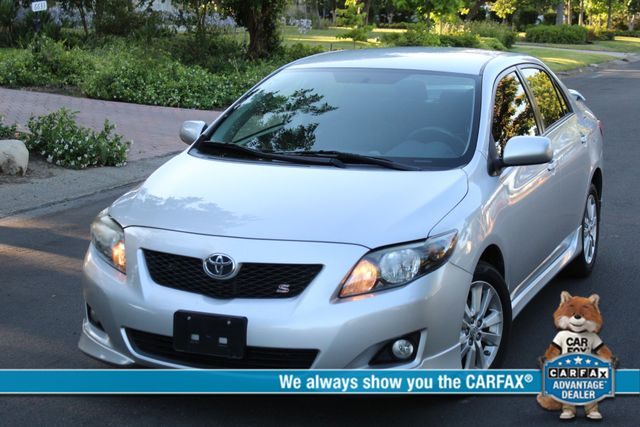 2010 Toyota COROLLA S SEDAN AUTOMATIC 1-OWNER SERVICE RECORDS