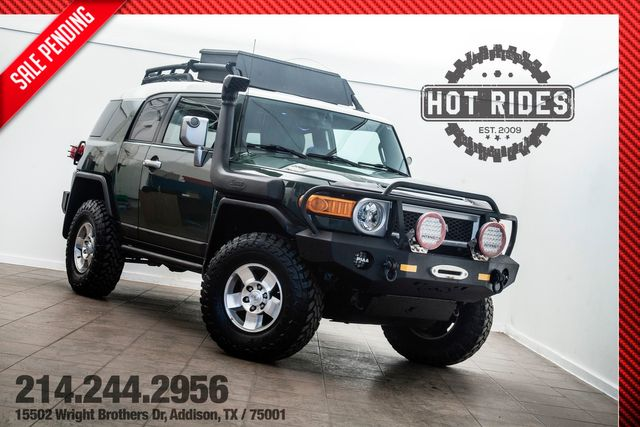 2010 Toyota FJ Cruiser 4x4 Lifted With Upgrades Only 43K Miles