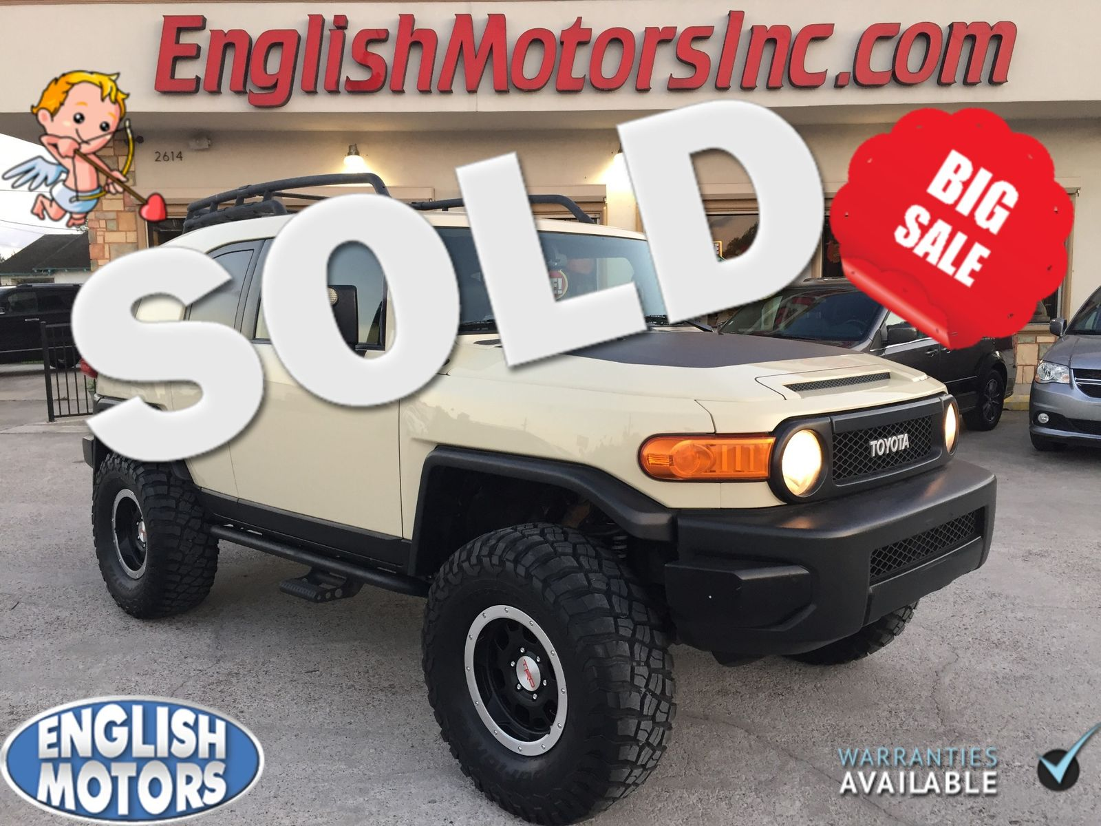2010 Toyota FJ Cruiser Trail Teams Brownsville TX English Motors in  Brownsville, ...