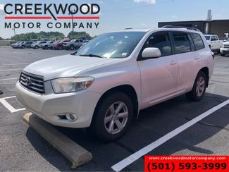 2010 Toyota Highlander SE FWD Pearl White Low Miles Leather Sunroof CLEAN in Searcy, AR 72143