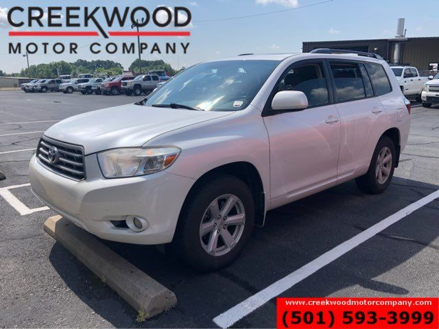 2010 Toyota Highlander SE FWD Pearl White Low Miles Leather Sunroof CLEAN