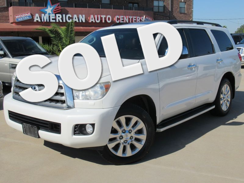 2010 Toyota Sequoia Platinum 4WD | Houston, TX | American Auto Centers in Houston TX